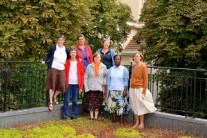 Hélène, Myriam, Bernadette, Françoise, Bénédicte, Espérance et Christine